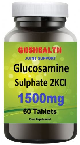 Glucosamine Sulphate 2KCl 1500mg 60 Tablets (Joint Care) special Offer Normal Rsp £9.99